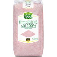 Sůl himalájská 100% růžová jemná 1kg LF