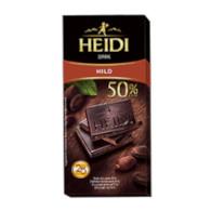 Čok. Hořká 50% Heidi 80g ECE