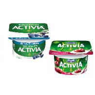 Activia borůvka/višeň mix 120g