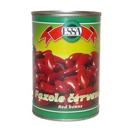 Červené fazole 400g PP 240g XA Essa