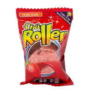 Roller jahoda s cukrem 20g