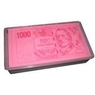 Jedlý papír české bankovky