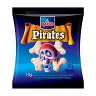 Chleb. Pirates rýžové bílá poleva 30g RACIO