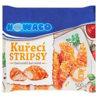 Stripsy kuřecí 500g Nowaco