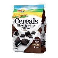 Cereals black white mléčná náp.250g BONAV