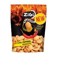 Arašídy hot chilli peppers Zigi 70g