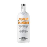 Vodka Absolut Mandarin 40% 1l BECH
