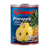Ananas plátky Giana 580ml P
