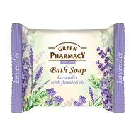 Green Pharmacy mýdlo tuhé Levandule/lněný olej 100g