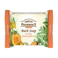 Green Pharmacy mýdlo tuhé mrkev dýně 100g