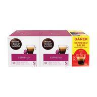 Dolce Gusto Espresso copack 2ks+šálek XK