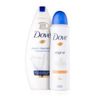 Dove deo spray a SG Original UNL