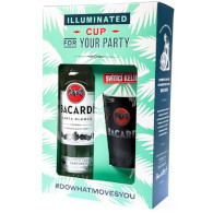 Bacardi Carta Blanca 37,5% *svít. pohár 0,7l