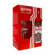 Gin Beefeater 40% 0,7l + 1sklo T