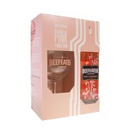 Gin Beefeater Pink 40% 0,7l + 1sklo T