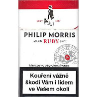 Philip Morris 100 Ruby  101Z