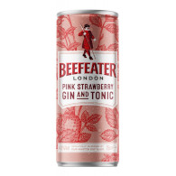 Beefeater pink straw.+ tonic P 250ml