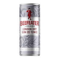 Beefeater london dry + tonic P 250ml
