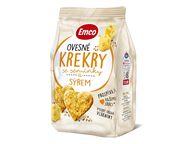 Krekry oves.semín./sýr 100g EMCO