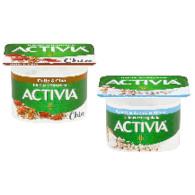 Activia bílá+datle+chia/kokos+špalda mix 120g