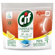 Cif tabl. do myčky Complete Clean Lemon 26ks TP