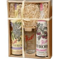 Kitl Syrob dárkové balení 2x500ml (Bez+Malina) XS