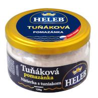 Pomazánka tuňáková 150g Heleb