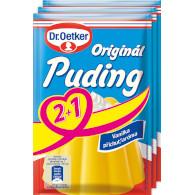 Puding original vanilka 2+1 111g OET XS