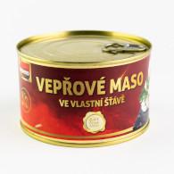 Maso vepřové ve vl. šť. 400g Veseko P