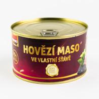 Maso hovězí ve vl. šť. 400g Veseko P