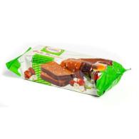 Blok kakaový s oříšky  polévaný 300g