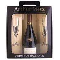 Arthur Metz Crémant brut + sklo 0,75l UNB XS